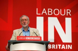 Labour-party-leader-Jeremy-Corbyn-delivers-a-speech-on-the-EU-referendum-campaign