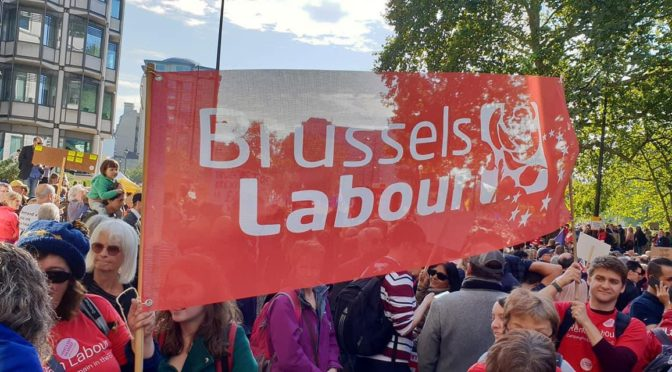Brussels Labour calls for free vote on any Brexit trade deal