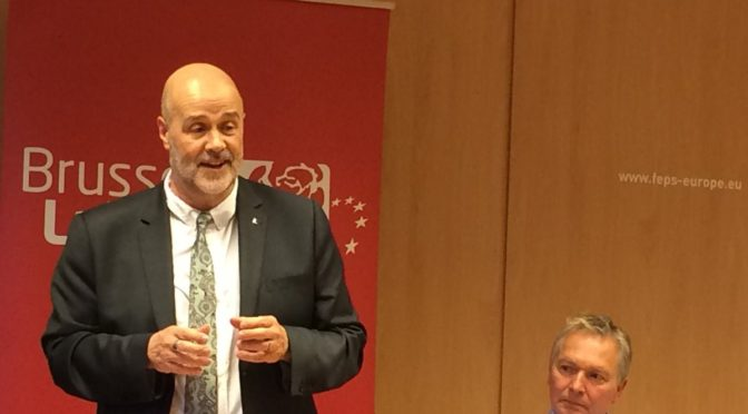 Brussels Labour meets John Howarth MEP