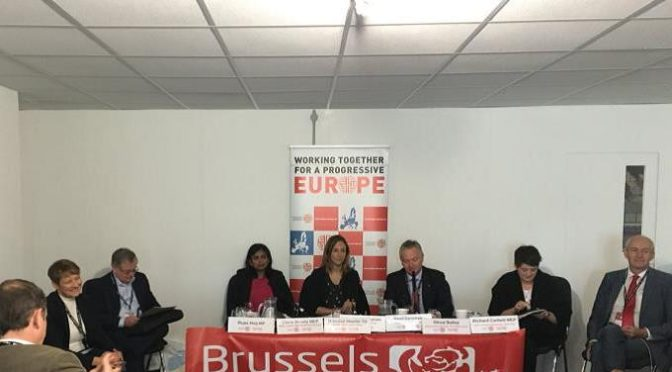 Brussels Labour Report from Labour Party Conference